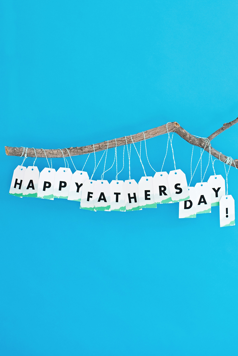 Printable Father's Day Garland
