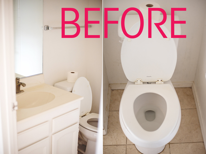 bathroom renovation before