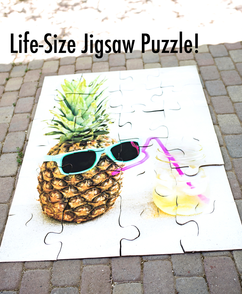 Life-Size Outdoor Jigsaw Puzzle
