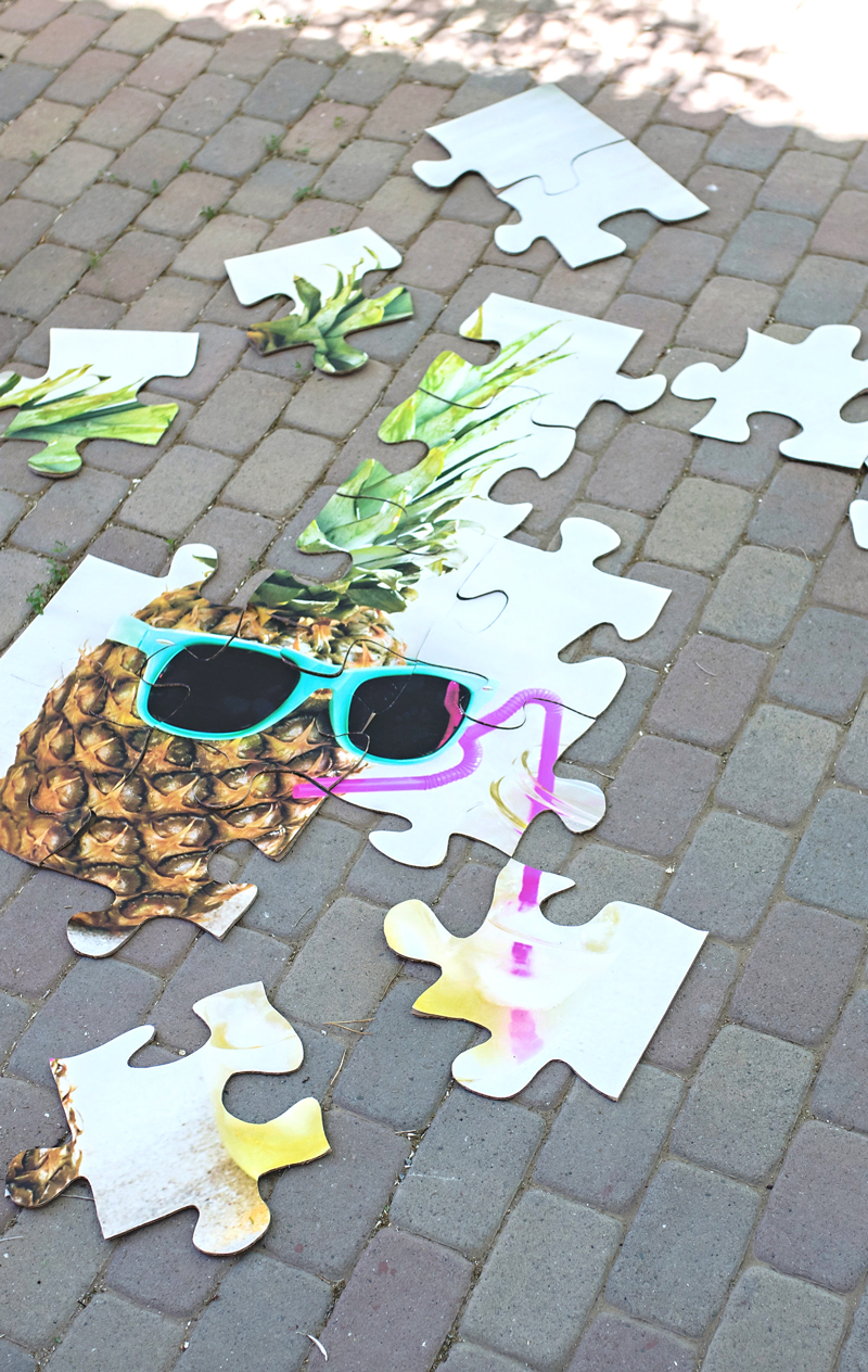 Life Size Outdoor Jigsaw Puzzle A Subtle Revelry