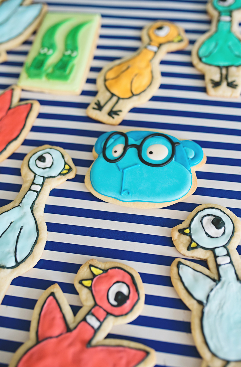 Custom Character Cutout Cookies