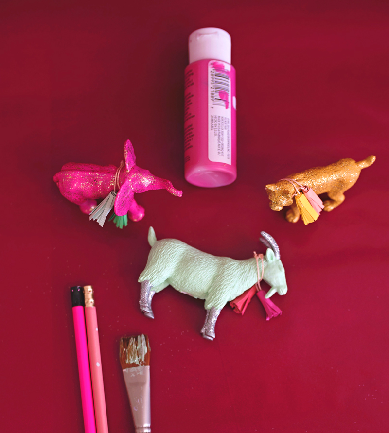 Wild Animal Pencil Toppers