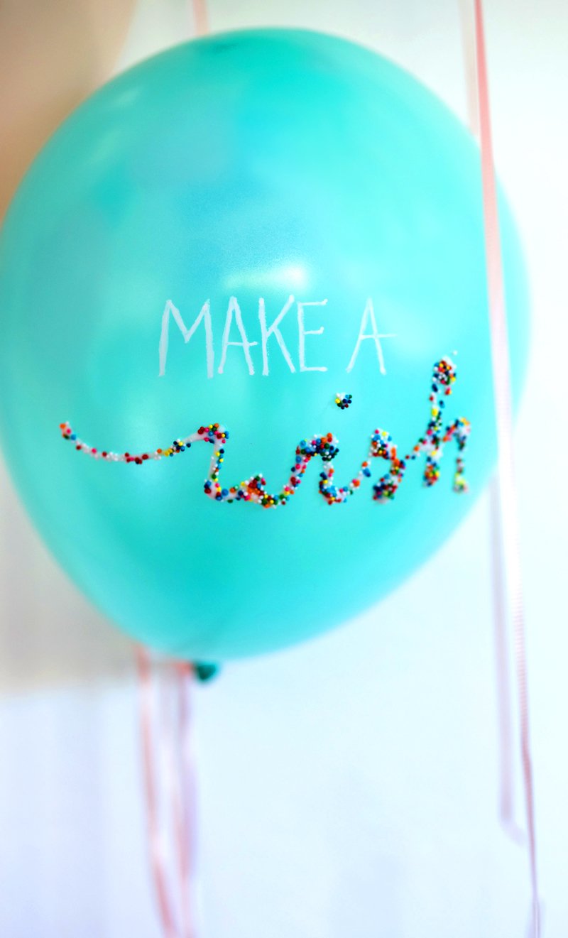 Sprinkle Balloons