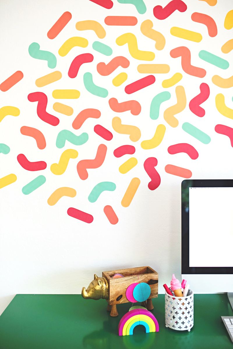 Colorful Wall Sprinkles