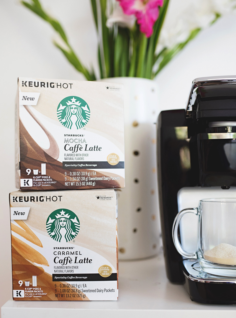 starbucks lattes at home