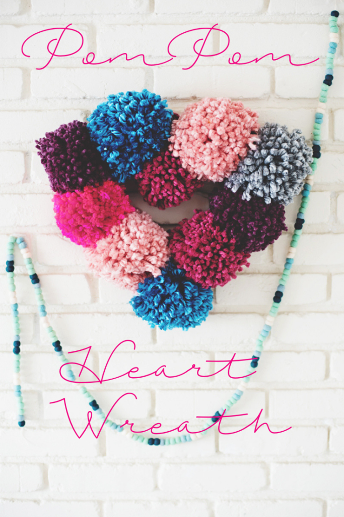 Valentine Heart Wreath DIY