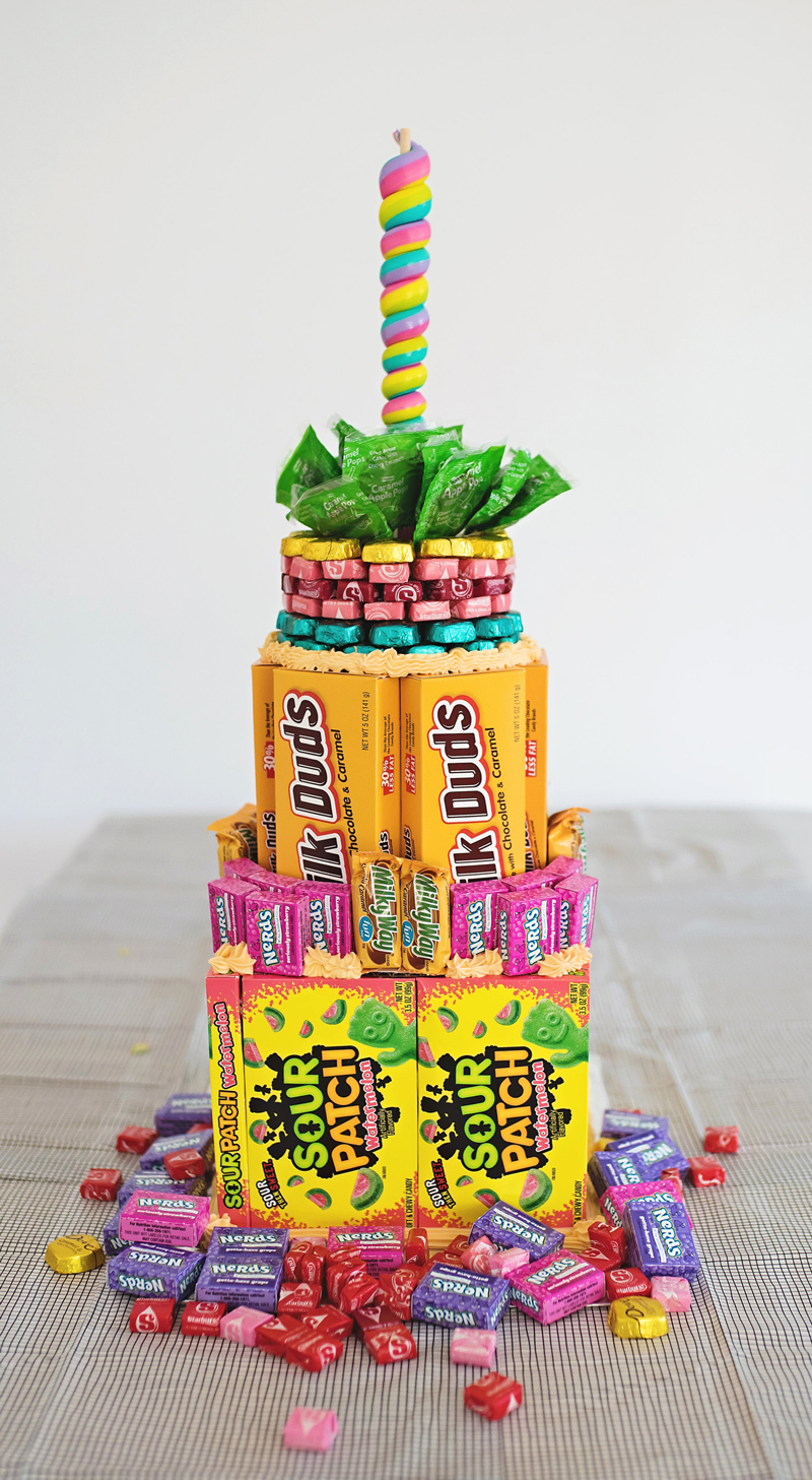 A Candy Cake