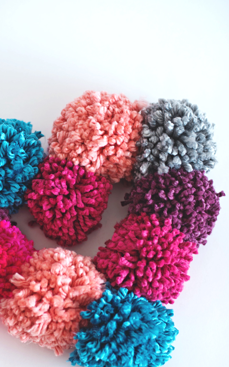 Heart Wreath DIY