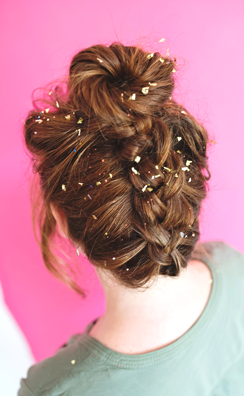 Confetti French Braid Update