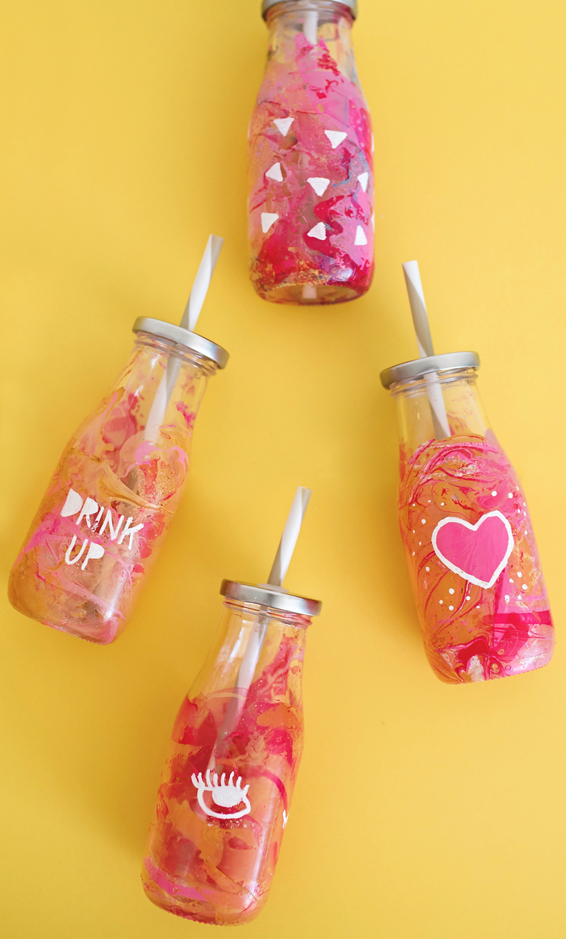 DIY To-Go Smoothie Cups