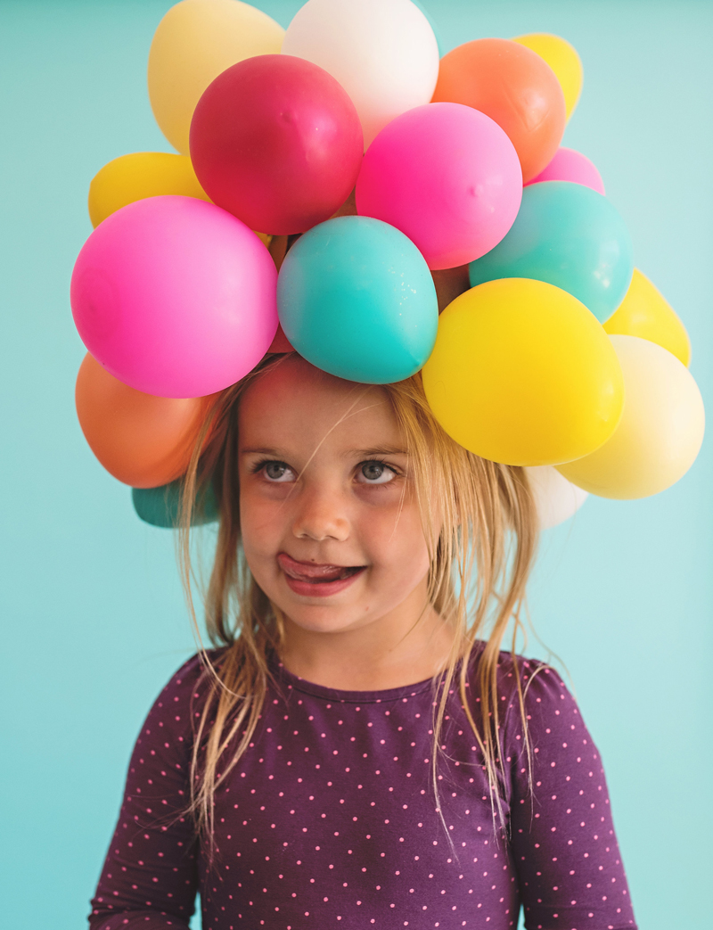 Balloon Girl Party Costume Hat