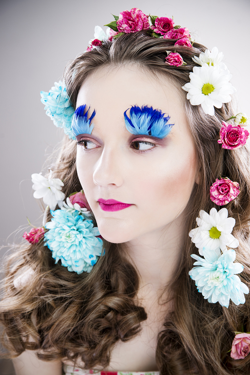 Flower Fairy Halloween Makeup