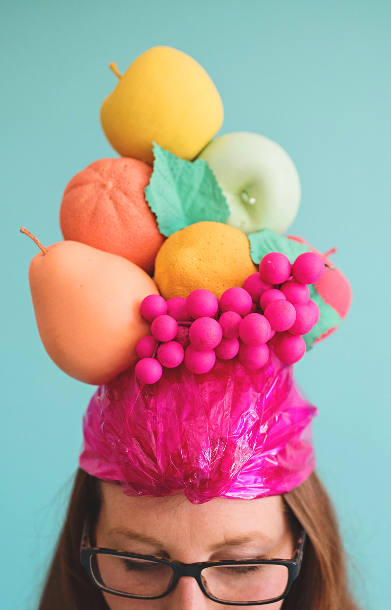 Fruity Lady Halloween Costume Hat