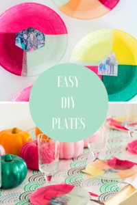 How to Create Easy DIY Plates