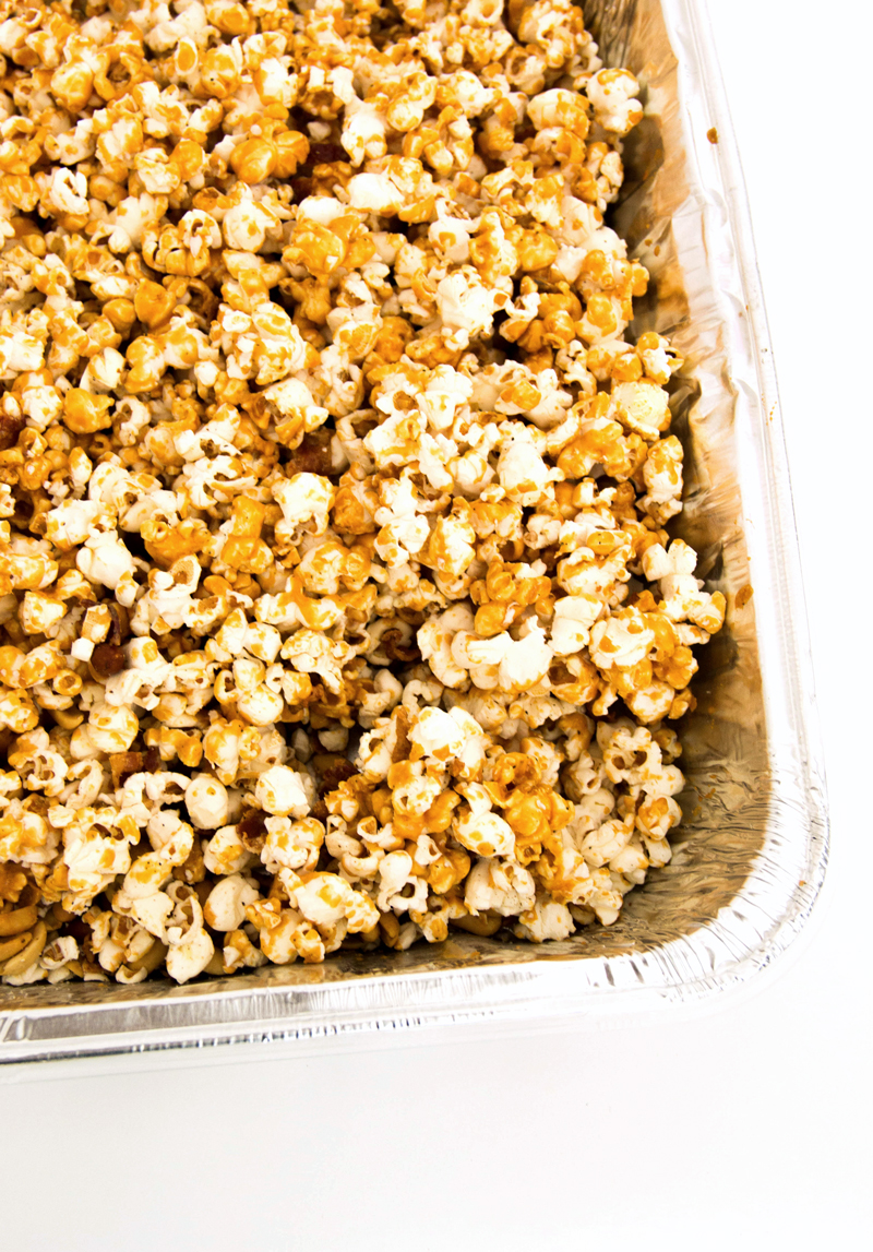 How to make the best Bacon Caramel Popcorn recipe