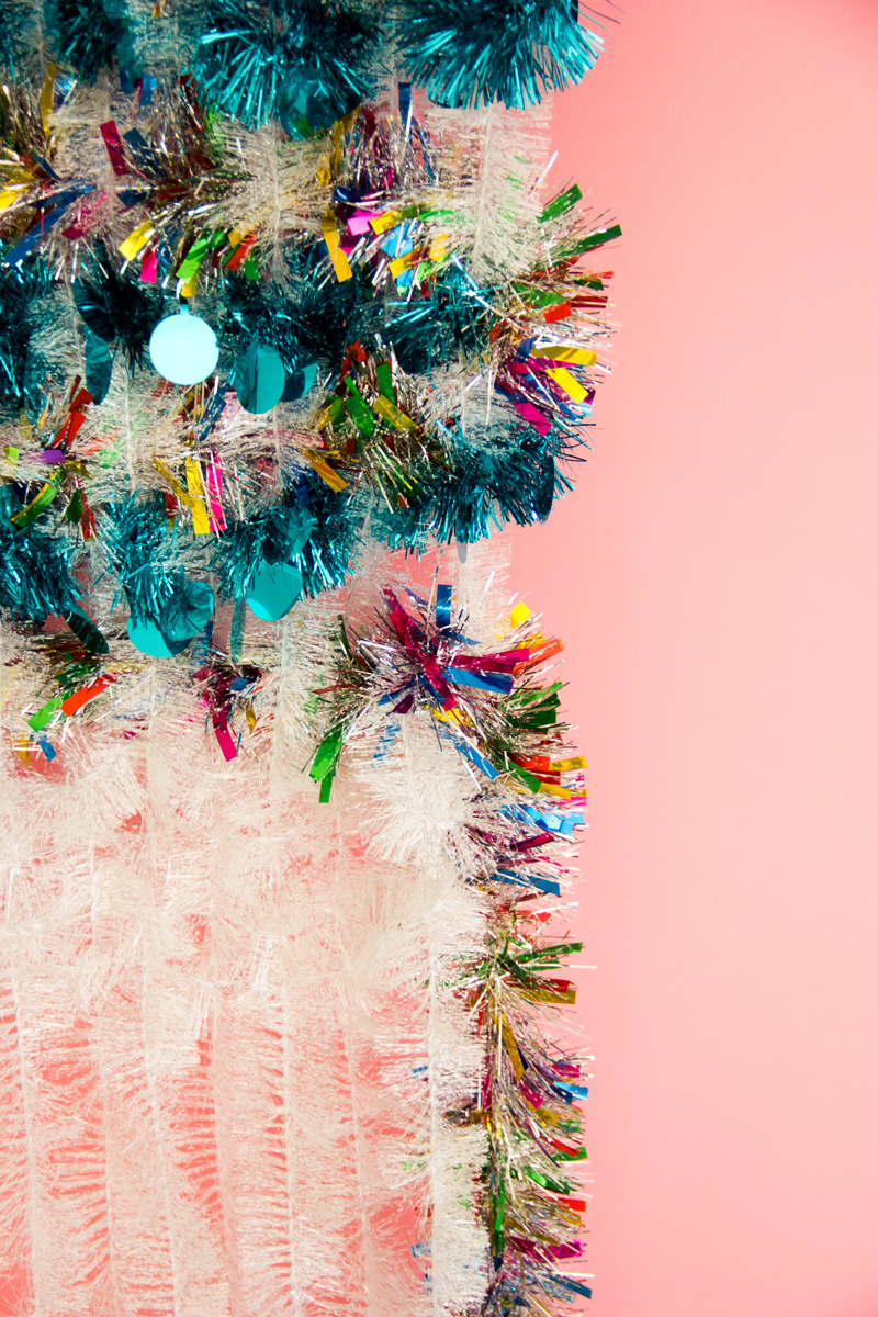 Tinsel Wall Hanging