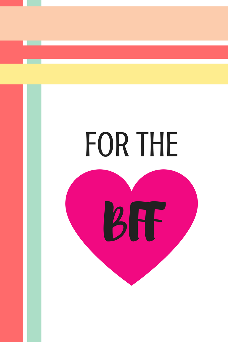 Valentine's Day Gift Guide for bff