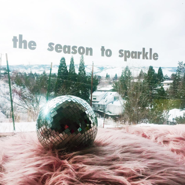 the season to sparkle