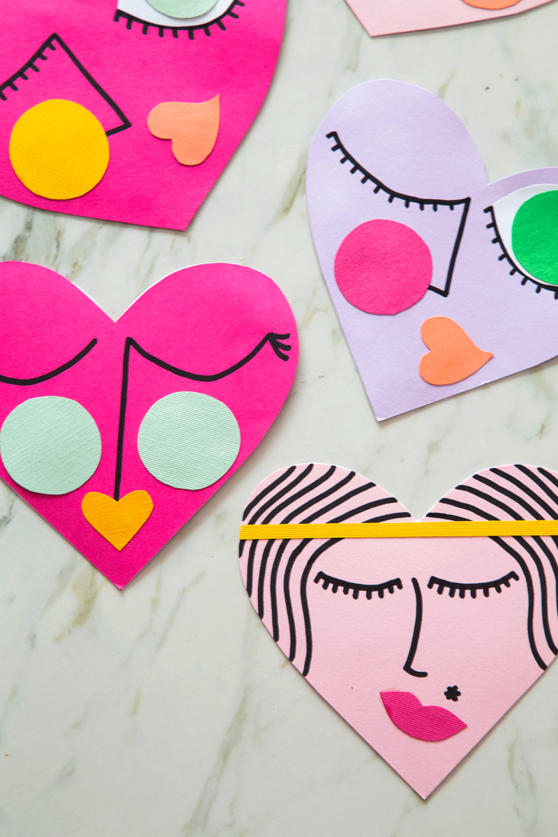 Funny Face Valentines