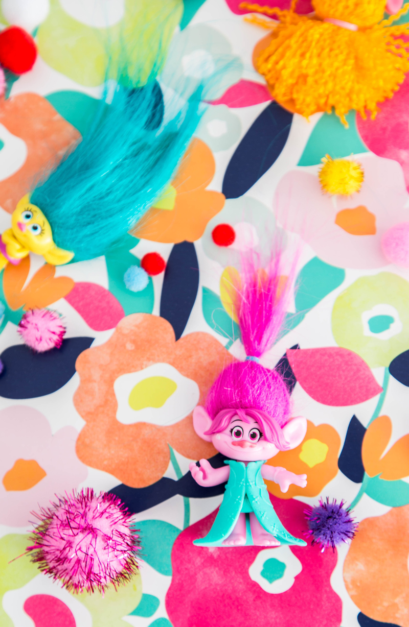 Trolls Bedroom Ideas: Trolls Birthday Party With Sprinkle Trolls Cupcake Toppers