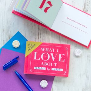 what i love about you valentines day gift ideas