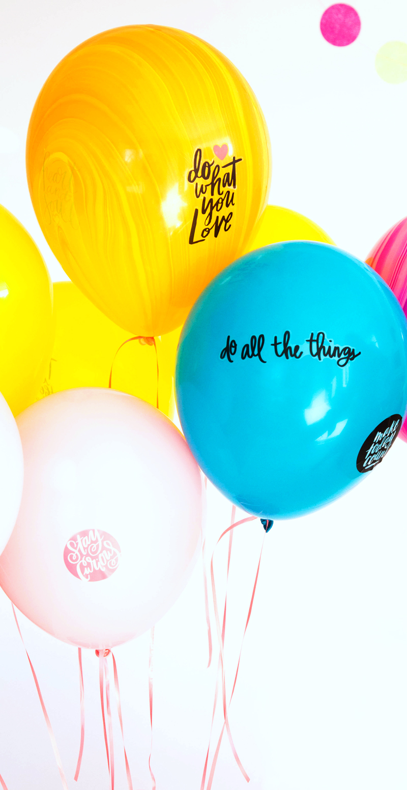 Motivational Balloons