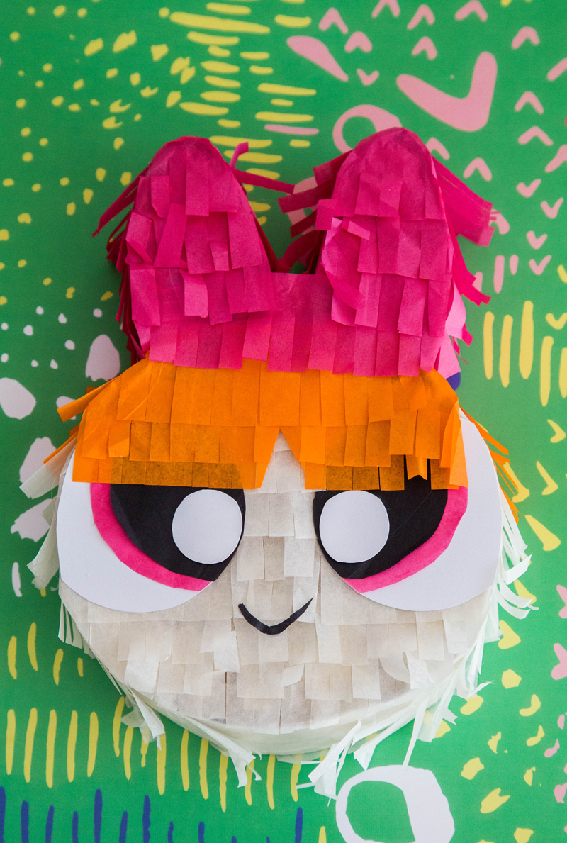 powerpuff girls birthday party pinatas