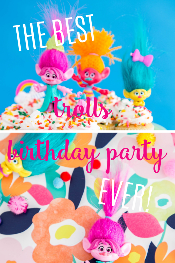 The best trolls birthday party ever