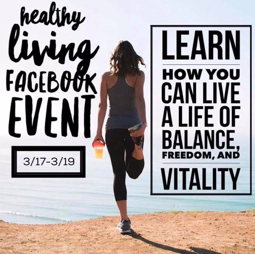 Healthy living FB event