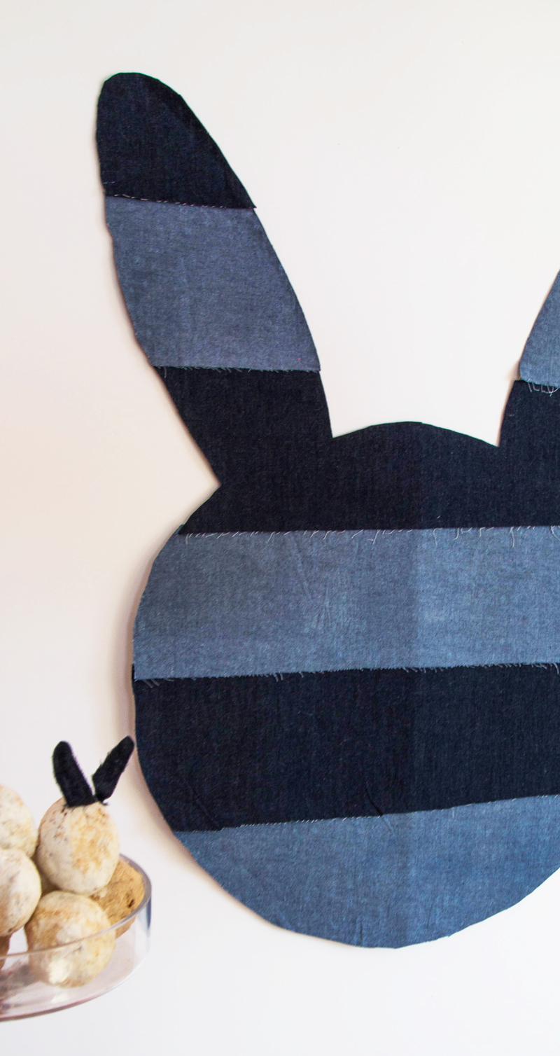 Denim Easter Bunny