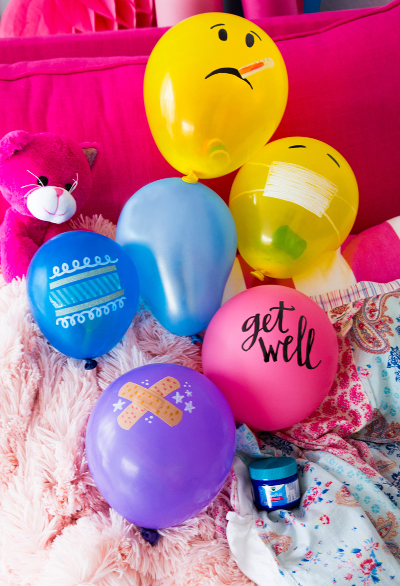 Balloon Sick Day Care Pack