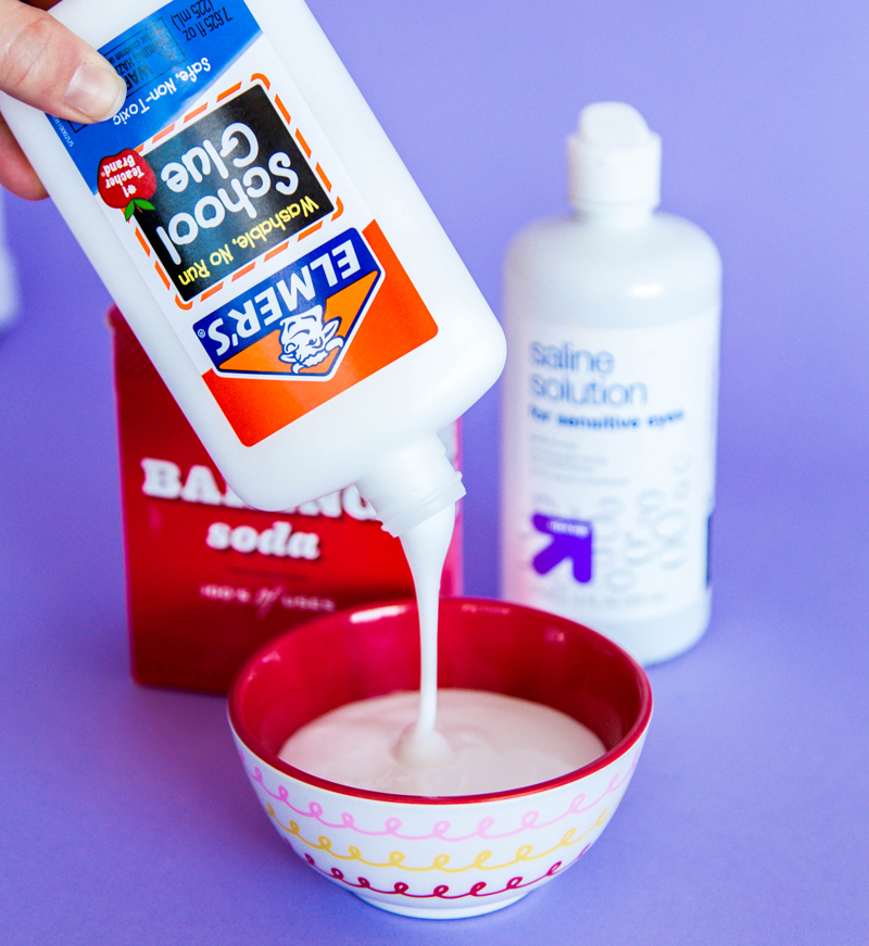 Elmer's glue Slime Recipe without borax