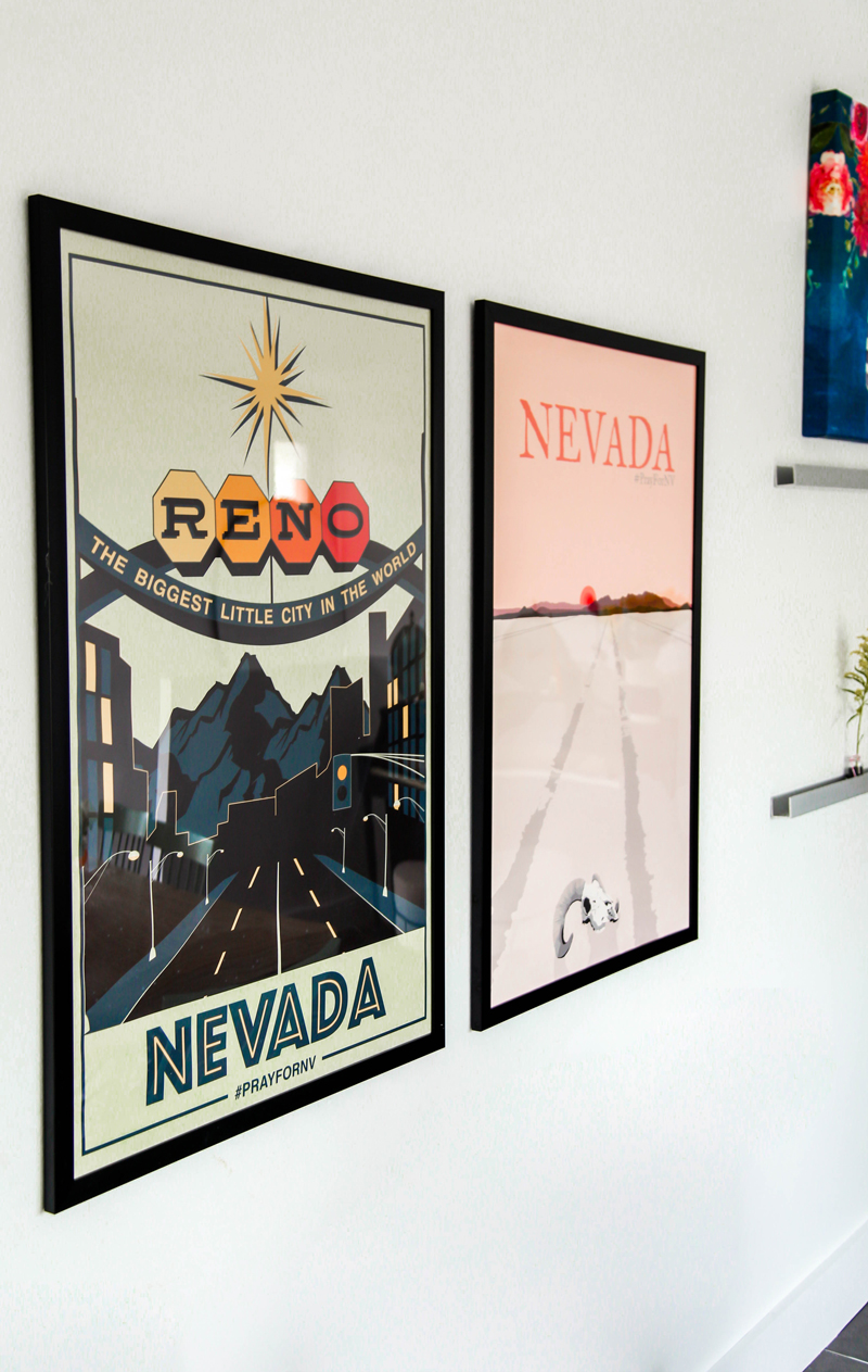 Gallery wall posters