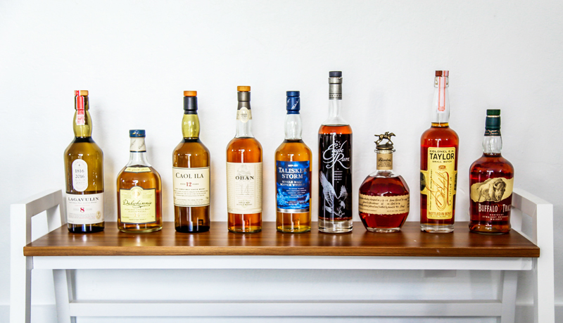 Best whiskey bottles for tasting