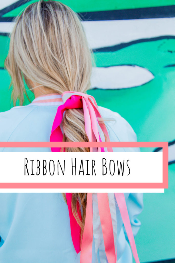 how to make hair bows out of ribbon without sewing