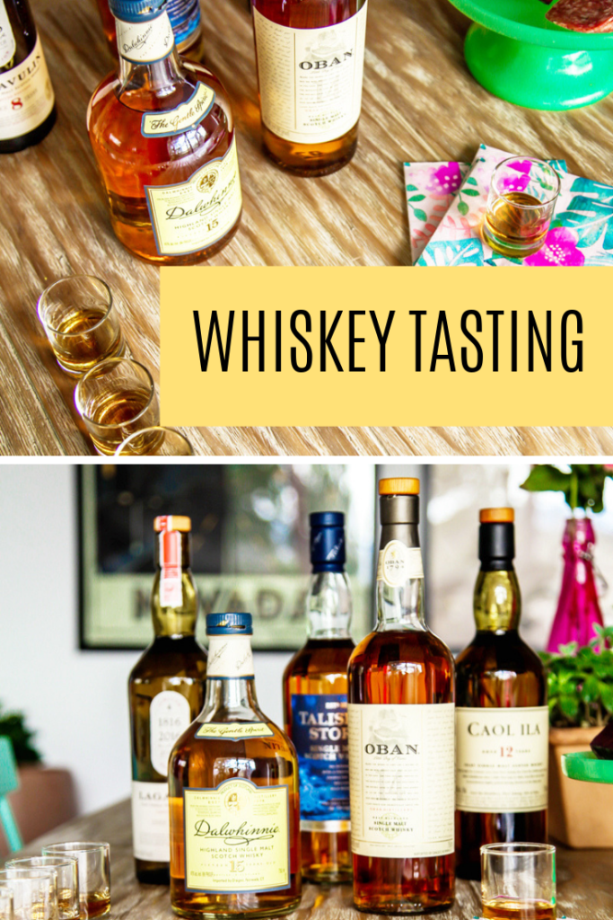how to do a whiskey tasting