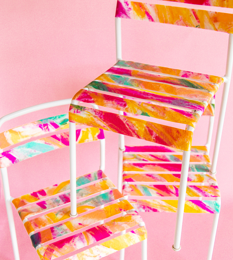 Painted Ikea Chair Hack