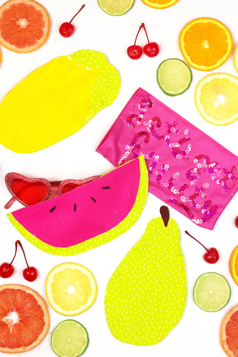 Fruity No-Sew Sunglass Case