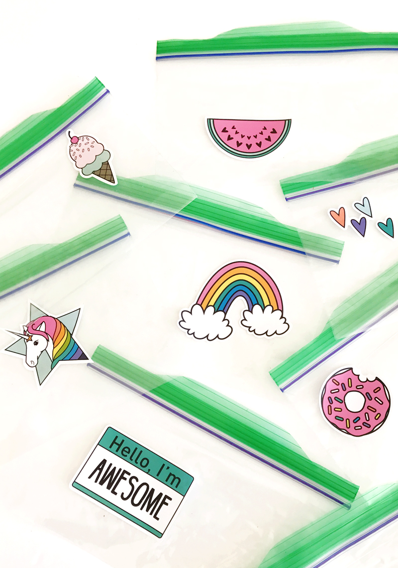 Lunch Ideas For Kids With Stickers
