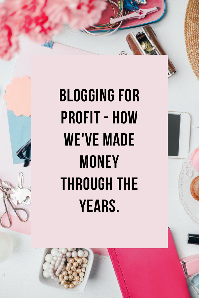 Blogging For Profit Through The Years – Our 8 Year History