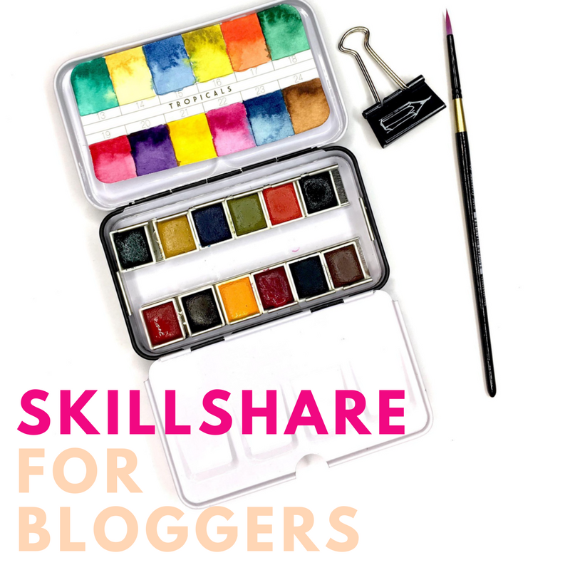 Skillshare For Bloggers