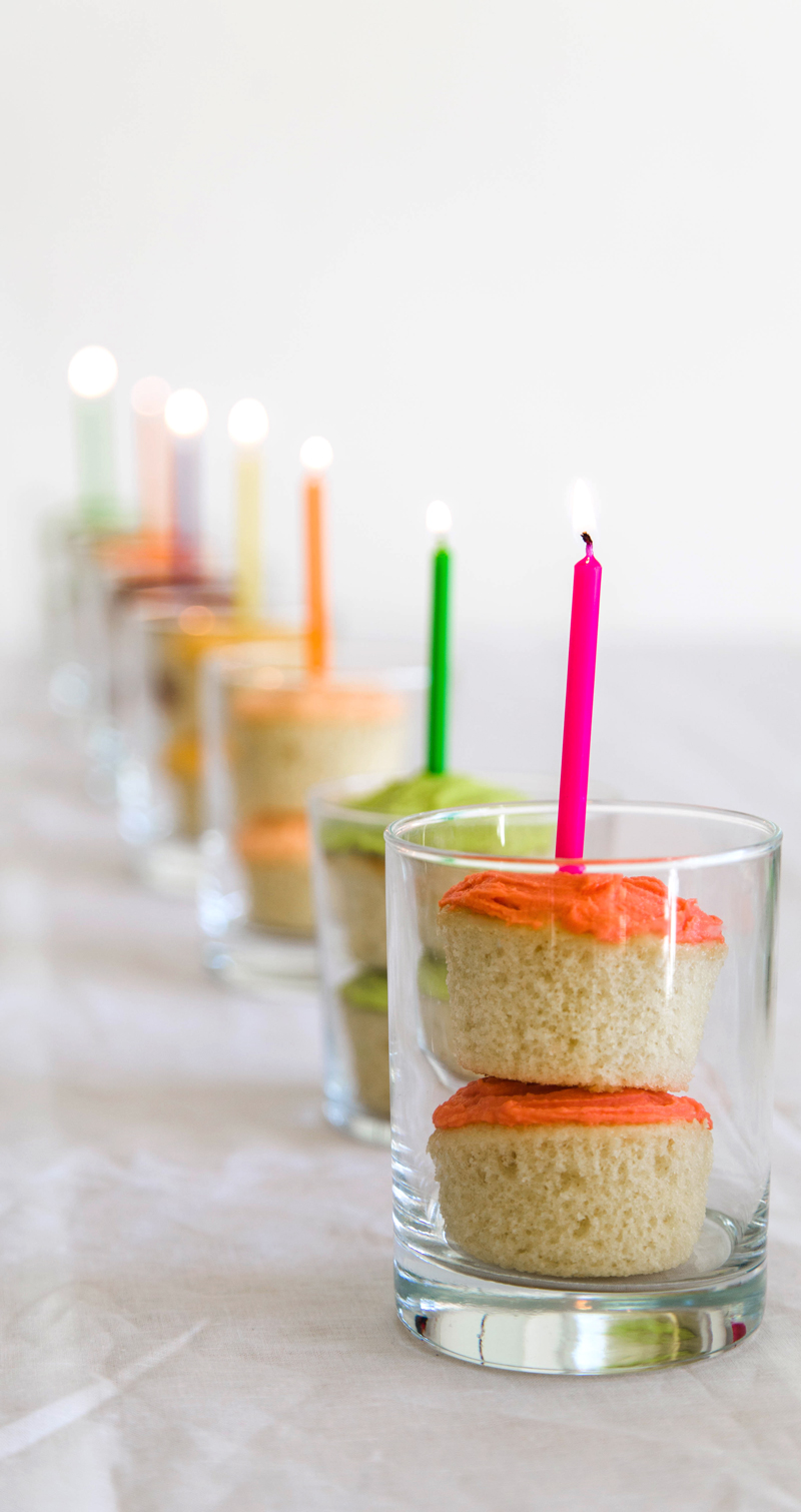 add candles to your floats with soda cupcakes