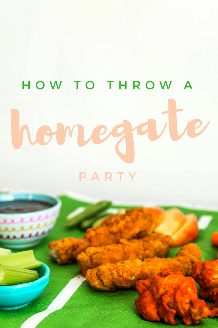 How To Throw A Homegate Party