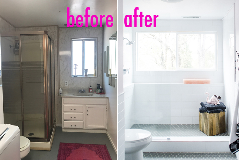 Our Basement Bathroom Renovation With Before Amp After