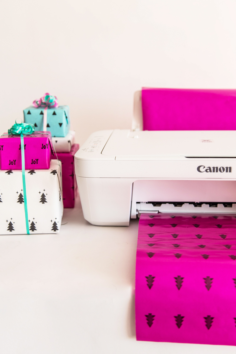 How To Print On Wrapping Paper For Personalized Presents