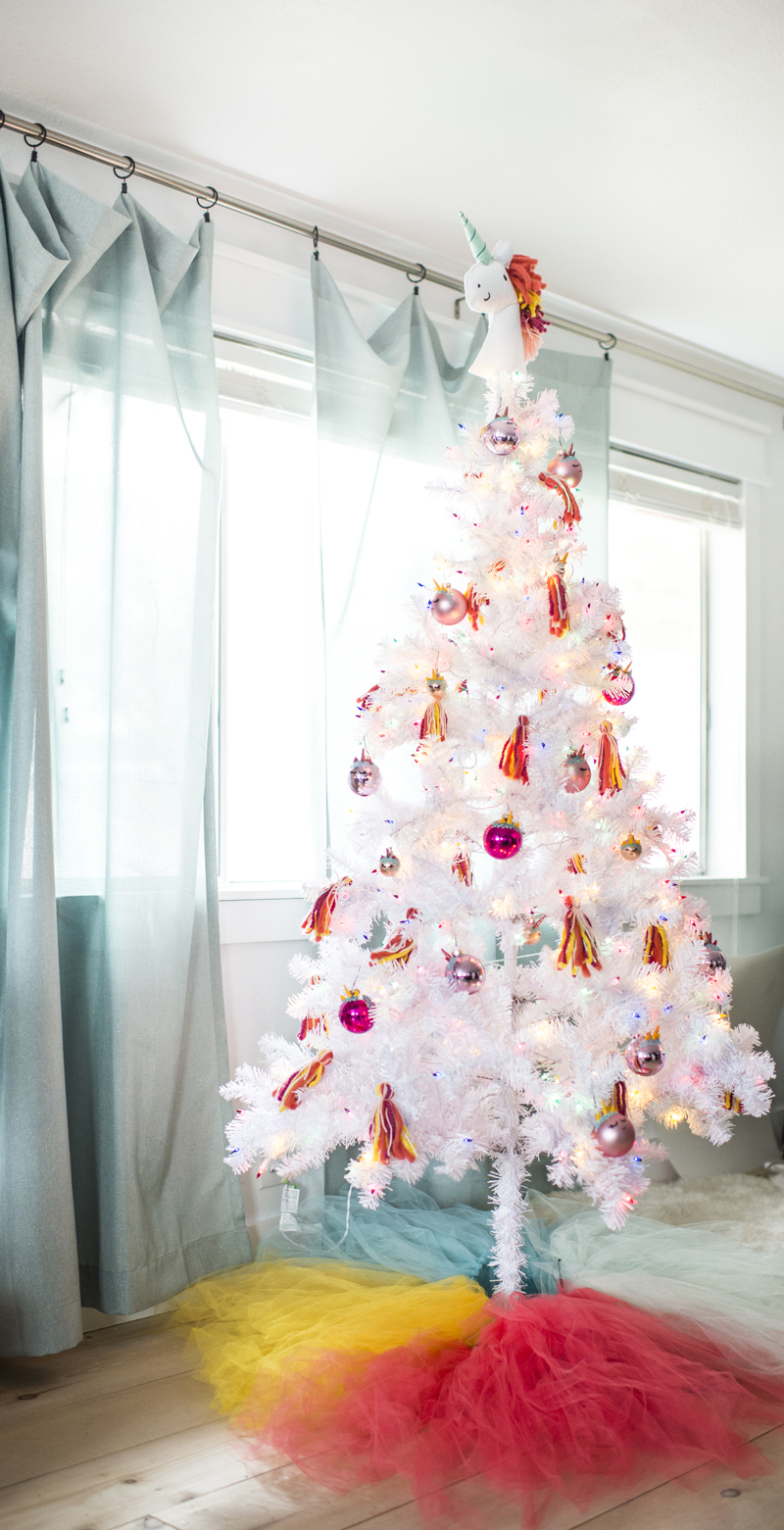 Unicorn Christmas Tree • A Subtle Revelry