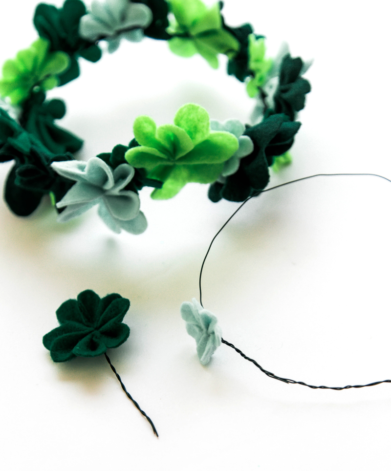 Shamrock crown