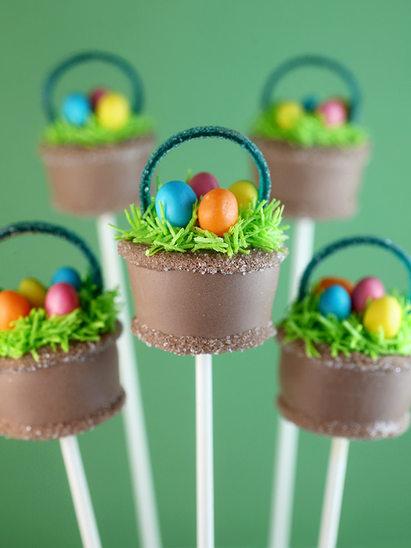 Easter basket 35 creative ideas a subtle revelry easter cake pops negle Images