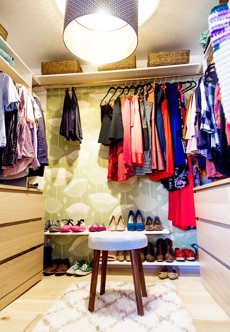 how to build a walk in closet our festive home diy closet a