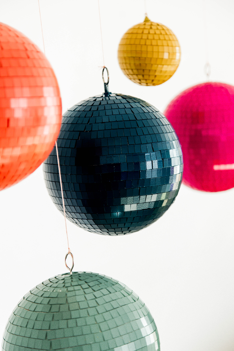 disco balls at home